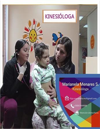 Kinesiologa Marianela Menares